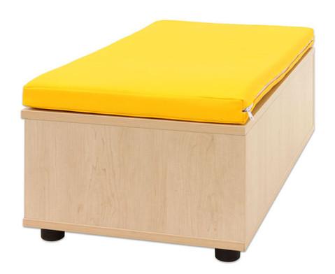 Maddox Sitzbankkombination 3 gelbe Sitzmatten-7