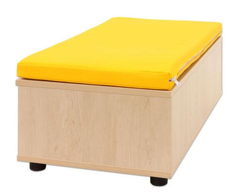 Maddox Sitzbankkombination 3 gelbe Sitzmatten-5