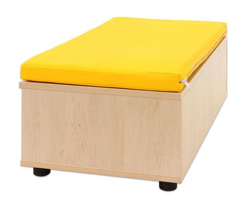Maddox Sitzbankkombination 3 gelbe Sitzmatten-3