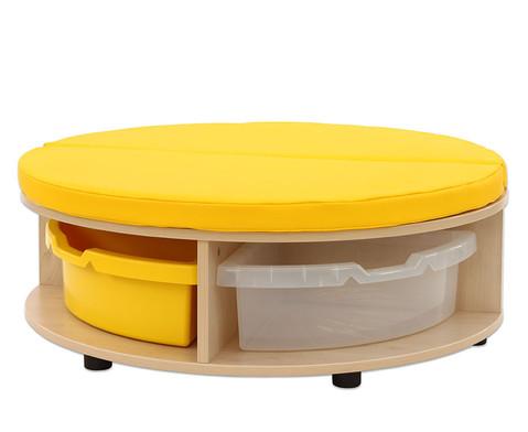 Maddox Sitzkombination 1 gelbe Sitzmatten-6