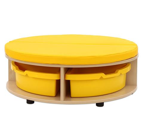 Maddox Sitzkombination 1 gelbe Sitzmatten-4