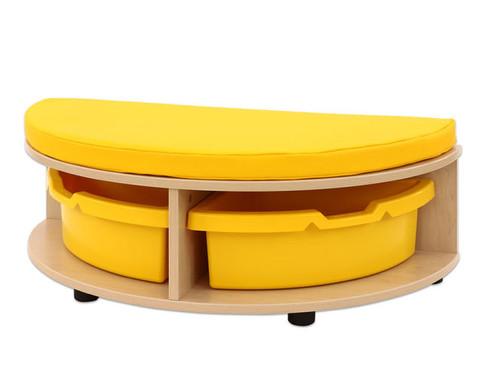 Maddox Sitzkombination 1 gelbe Sitzmatten-5