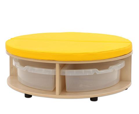 Maddox Sitzkombination 1 gelbe Sitzmatten-2