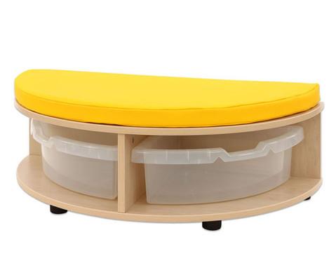 Maddox Sitzkombination 1 gelbe Sitzmatten-3