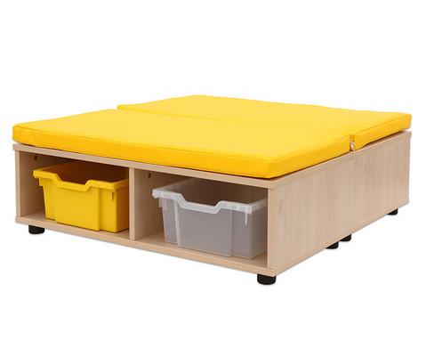 Maddox Sitzkombination 11 gelbe Sitzmatten-2