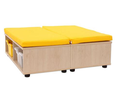 Maddox Sitzkombination 11 gelbe Sitzmatten-3
