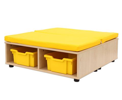 Maddox Sitzkombination 11 gelbe Sitzmatten-5