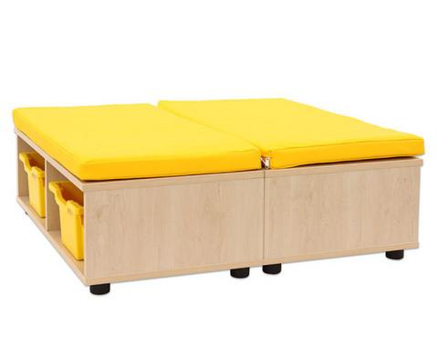 Maddox Sitzkombination 11 gelbe Sitzmatten-6