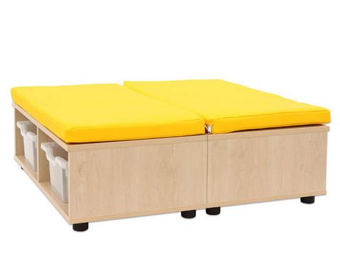 Maddox Sitzkombination 11 gelbe Sitzmatten-7