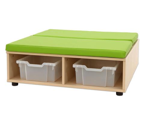 Maddox Sitzkombination 11 gruenen Sitzmatten-4