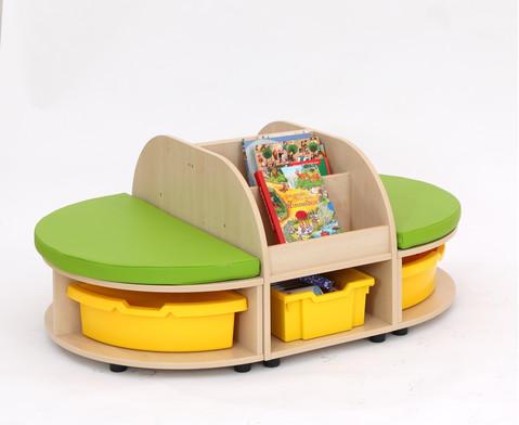 Maddox Sitzkombination 2 gruene Sitzmatten-7