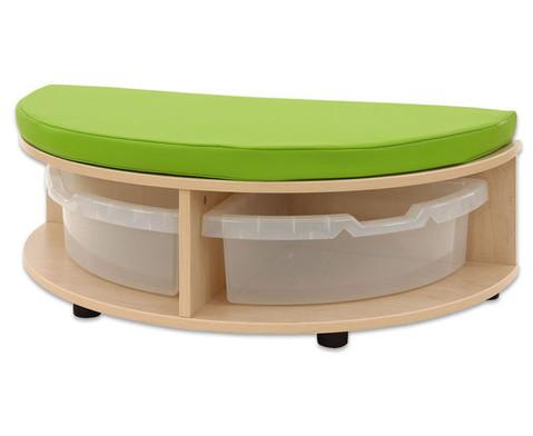 Maddox Sitzkombination 2 gruene Sitzmatten-3