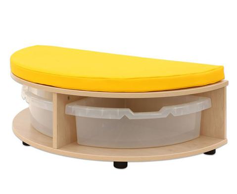 Maddox Sitzkombination 4 gelbe Sitzmatten-5