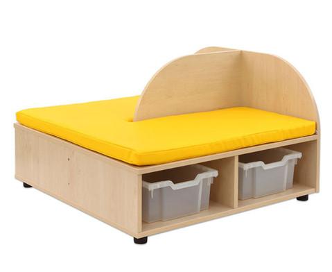 Maddox Sitzkombination 4 gelbe Sitzmatten-6