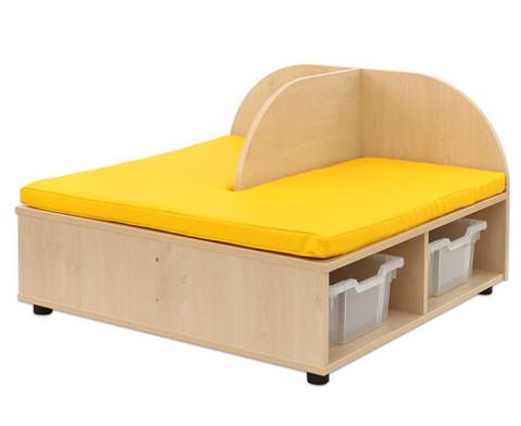 Maddox Sitzkombination 4 gelbe Sitzmatten-9