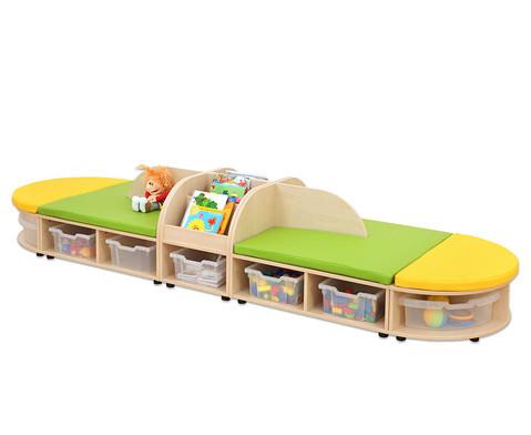 Maddox Sitzkombination 5 gruen-gelbe Sitzmatten-2