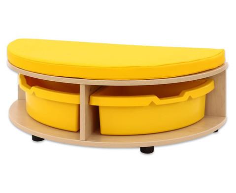 Maddox Sitzkombination 5 gruen-gelbe Sitzmatten-5