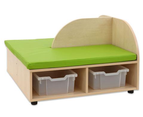 Maddox Sitzkombination 5 gruen-gelbe Sitzmatten-6