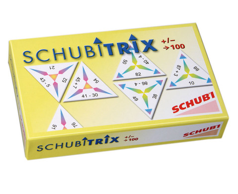 SCHUBITRIX - Addition und Subtraktion bis 100-1
