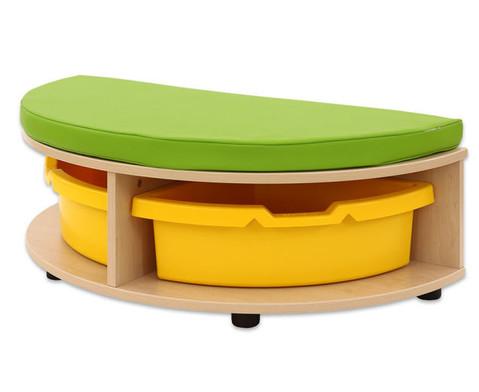 Maddox Sitzkombination 8 Sitzmatten gruen-3