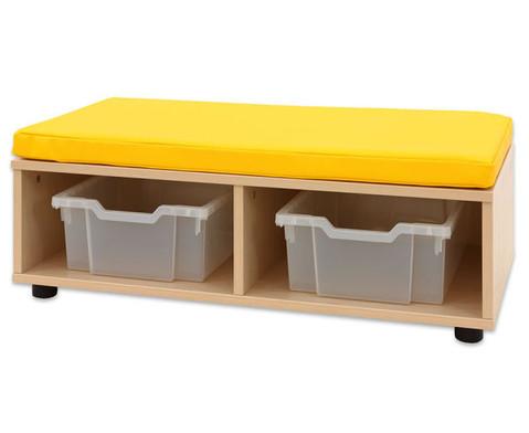 Maddox Sitzkombination 9 gelbe Sitzmatten-4