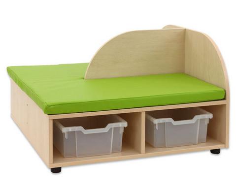 Maddox Sitzkombination 7 gruene Sitzmatten-7