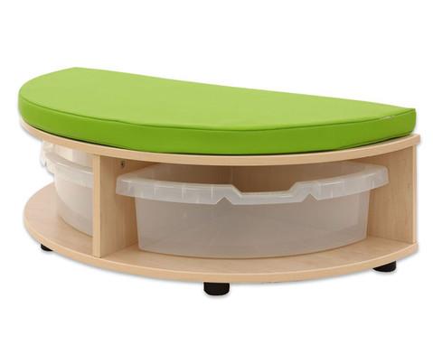 Maddox Sitzkombination 7 gruene Sitzmatten-8