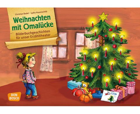 Bildkarten  Weihnachten mit Omaluecke-1