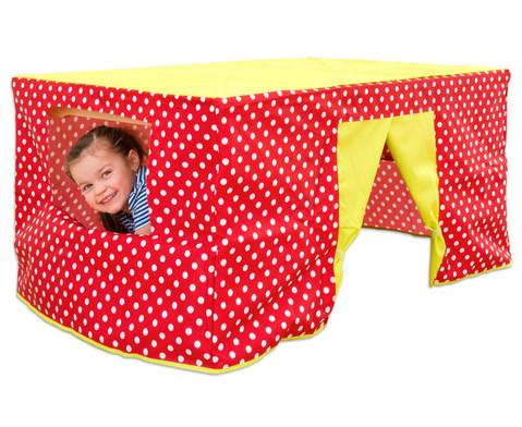 Tischzelt rot-6