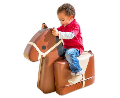 Soft- Sitzer Pferd-2