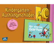 Kindergarten Aushängeschilder