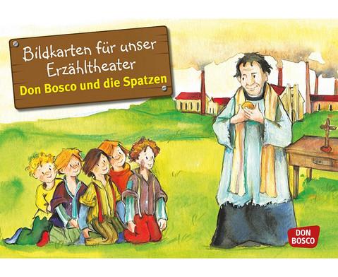 Bildkarten  Don Bosco und die Spatzen-1