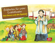 Bildkarten – Don Bosco und die Spatzen