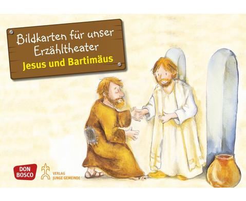 Bildkarten Jesus und Bartimaeus