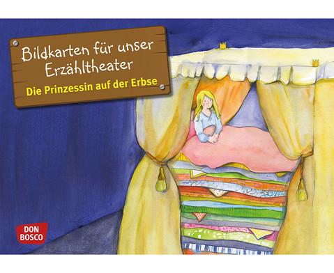 Bildkarten Prinzessin auf der Erbse