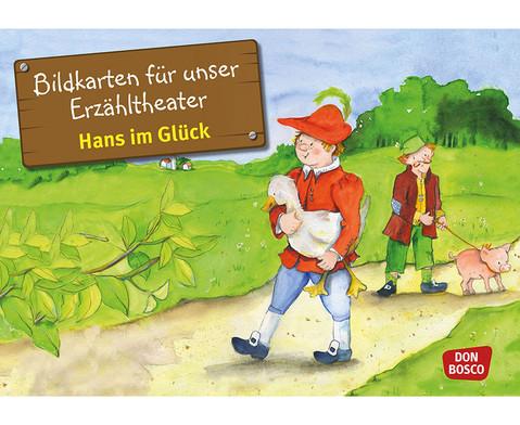 Bildkarten  Hans im Glueck
