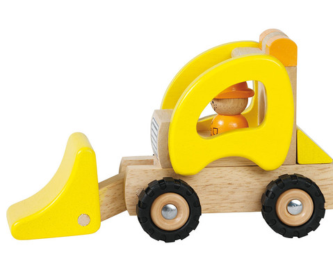 Holzfahrzeug Bagger-1
