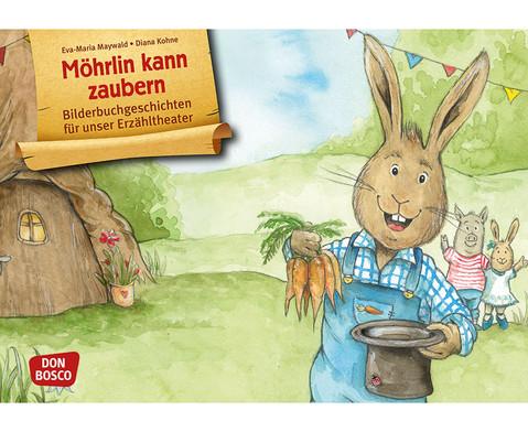 Bildkarten Moehrlin kann zaubern