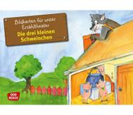 Bildkarten: Die drei kleinen Schweinchen