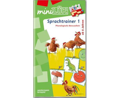miniLUEK Sprachtrainer 1-1