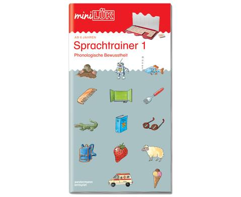 miniLUEK Sprachtrainer 1 ab 1 Klasse