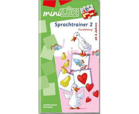 miniLUEK Sprachtrainer 2-1