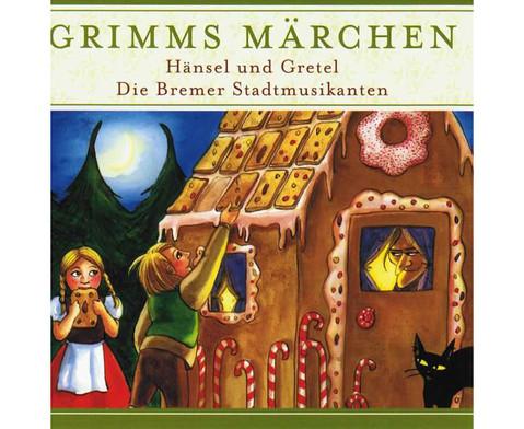 Grimms Maerchen - HaenselGretel  Bremer Stadtmusikanten-1