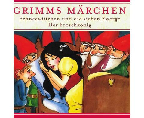 Grimms Maerchen - Schneewittchen  Froschkoenig-1
