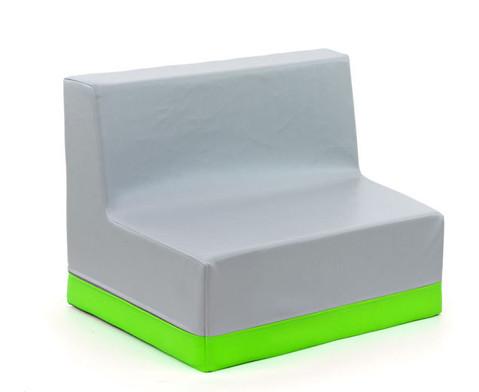 Sessel mit Lehne Webstoff-5