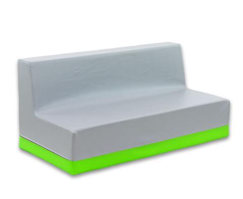 Sofa mit Rueckenlehne Kunstleder-12