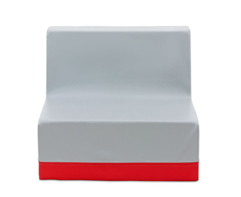Sessel mit Lehne Webstoff-11