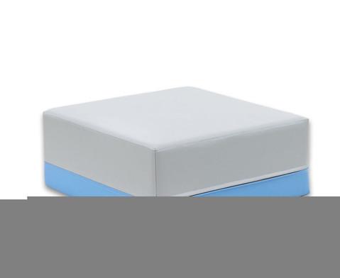 Hocker quadratisch Webstoff-7