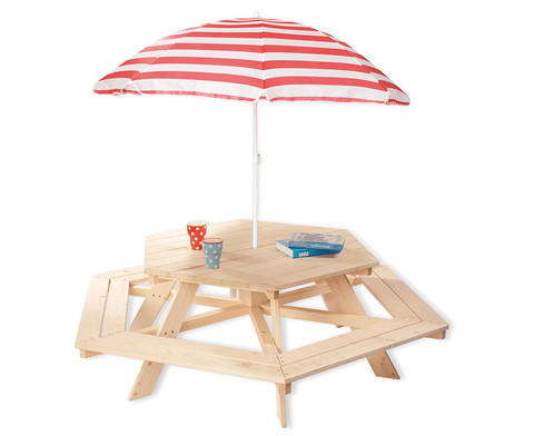 Kindersitzgarnitur mit Sonnenschirm-1