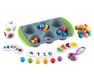Mini-Muffin Zähl- & Sortierspiel
